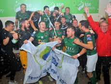 El Cork City ganó la Liga finalmente. CorkCityFC