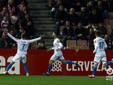 El Dépor venció gracias a un gol de Quique. LaLiga