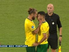 Ninaj and El Ablak had a big argument after Sittard's draw with Heerenveen. FOXSports