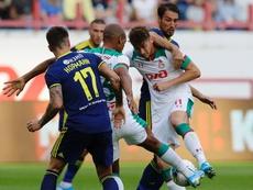 El Lokomotiv cayó en la visita del Rostov. Twitter/fclokomotiv