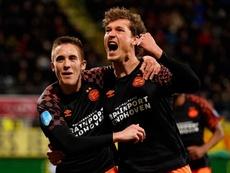 El PSV confirmó su reacción goleando al ADO. PSV