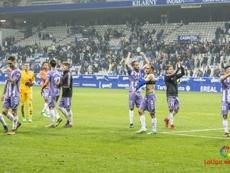 El Valladolid venció al Oviedo con dos goles en dos minutos. LaLiga
