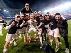 Atlanta se proclamó campeón de la MLS. ATLUTD