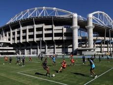 Múltiples positivos en Brasil. Twitter/Botafogo