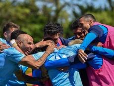 El equipo uruguayo que entrenará junto a Guardiola. CATorque