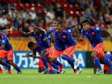 Colombia sufre hasta los penaltis para estar en cuartos. Twitter/SeleccionCol