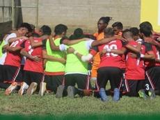Deportivo Las Sabanas toma el liderato en Nicaragua. Twitter/DeportivoLasSabanas
