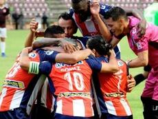 Empate técnico en Mérida. Twitter/EstudianteMEFC