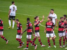 Jogador do Flamengo testa positivo no dia da final da Taça Rio. Twitter/Flamengo