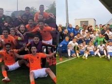 Holanda e Italia reeditarán la final de 2018. Twitter/OnsOranje/FIGC