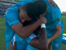 Jaguares batió a Millonarios. Captura/RCN