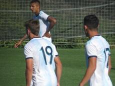 Argentina Sub 20 doblegó al filial del Villarreal. SeleccionArgentina