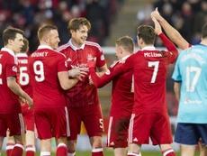 El Aberdeen dice adiós a la Europa League en la tercera ronda previa. AFC