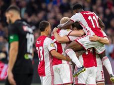Un Ajax sobrio se impuso al Groningen. AFCAjax