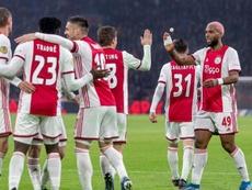 El Ajax golea a un equipo de Cuarta División en la Copa