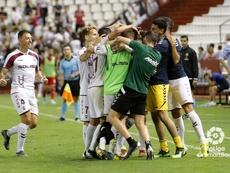 Pedro Alcalá anotó el gol en propia puerta para el Albacete. LaLiga