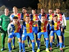 El Andorra, uno de los clubes modestos de la Copa. FCAndorra