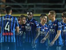 El Atalanta goleó al Brescia. Twitter/Atalanta_BC