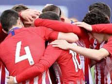 El Atlético B tuvo varios cambios en su plantilla. Twitter/AtletiAcademia