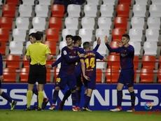 Partidos del Barça B están bajo sospecha. LaLiga