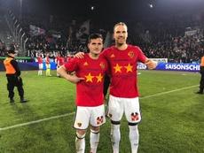 El Basilea hizo doblete este año, ganando Liga y Copa. FCBasel