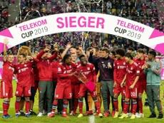 El Bayern se proclamó campeón. Twitter/FCBayern