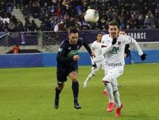 El Rennes venció 0-3. Twitter/staderennais