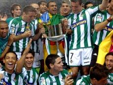 El Betis fue campeón en 2005. EFE