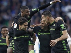 El Betis abortó la remontada del Espanyol por mediación de Bartra. EFE