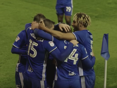 Che Adams está en la agenda del Everton. Captura/Youtube