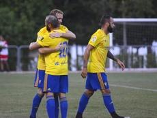 El Cádiz ganó en Ubrique al Al Rayyan. CadizCF