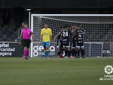 El Cartagena venció 3-0. LaLiga