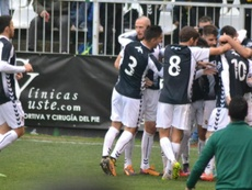 Castellón y Villarreal C empatan a dos. Twitter/CDCastellón