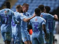 El Coventry City se encuentra en primera posición en la League One. Twitter/CoventryCity