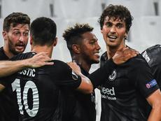 El Eintracht rompió su pequeña sequía. Eintracht