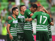 El Ferencvárosi ganó por la mínima. Ferencvarosi