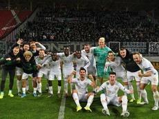 El Ferencvárosi goleó al Debreceni. Twitter/Fradi_HU