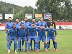 El Fuenlabrada lidera la tabla junto a Cádiz y Huesca con 6 puntos. CFFuenlabrada