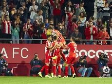 El Girona continúa sin perder en Montilivi. LaLiga