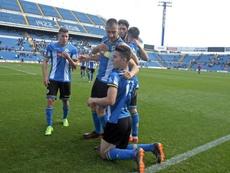 El conjunto alicantino logró su cuarta victoria consecutiva. Twitter/CFHercules