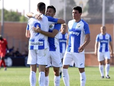 El Leganés venció con solvencia. Twitter/CDLeganes