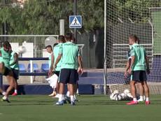 El Levante se estrenará en un amistoso ante el Albacete. Captura/LevanteUD