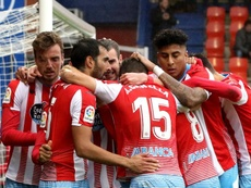 El Lugo volvió a ganar. Twitter/CDeportivoLugo