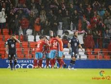 La Cultural cayó por 3-1 ante el Lugo. LaLiga