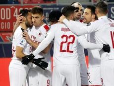 El Milan empieza a recomponerse tras un empate y dos victorias seguidas. EFE