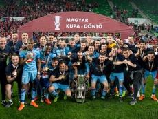 El MOL Vidi ha ganado la Copa de Hungría por segunda vez en su historia. MOLVidi