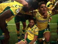 El Norwich se lo pondrá difícil al United por Aarons. NorwichCityFC
