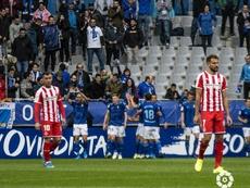 El Oviedo ganó como local por primera vez. LaLiga