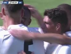 Los goles de Cristo y Vinícius le dieron otros tres puntos al filial blanco. RealMadrid