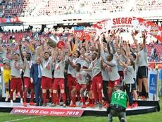 El Red Bull Salzburgo ganó la final de Copa. RBSalzburg